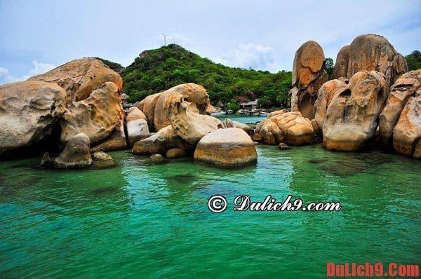 Du lịch bụi đảo Bình Lập