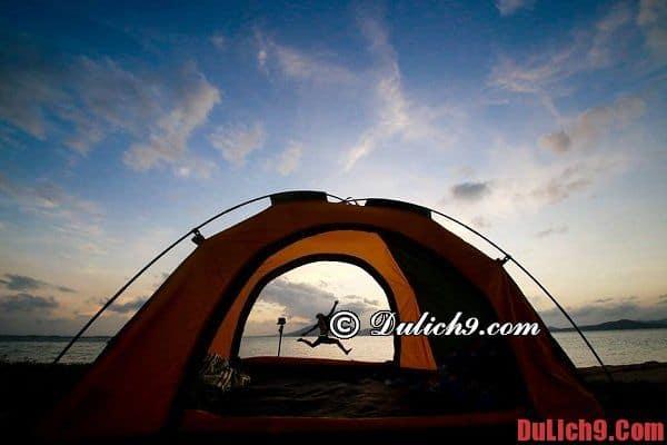 Hướng dẫn lưu trú trên đảo Điệp Sơn thuận lợi và an toàn. Kinh nghiệm du lịch đảo Điệp Sơn tự túc, giá rẻ