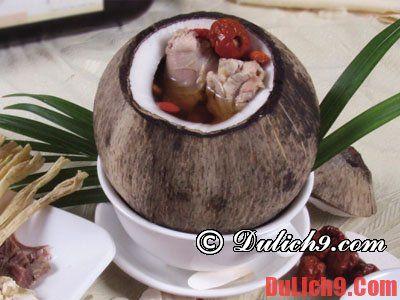 Kinh nghiệm du lịch đảo Dừa Lửa. Ăn uống khi du lịch đảo Dừa Lửa