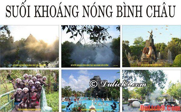 Kinh nghiệm du lịch suối nước nóng Bình Châu
