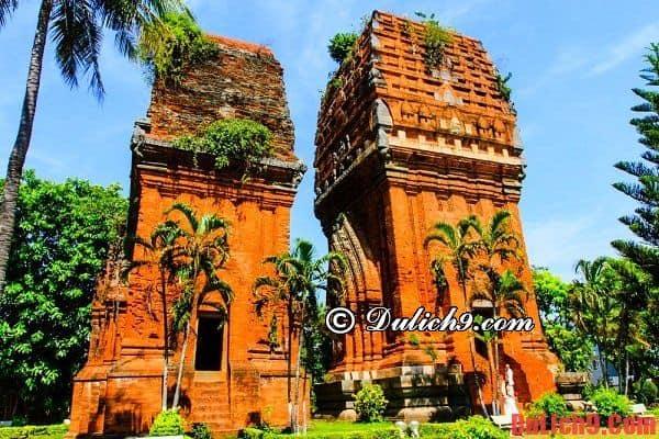 Tháp Đôi - Địa danh không thể không đến khi du lịch Bình Định