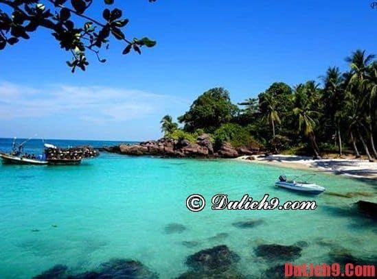 Lịch trình du lịch đảo Móng Tay