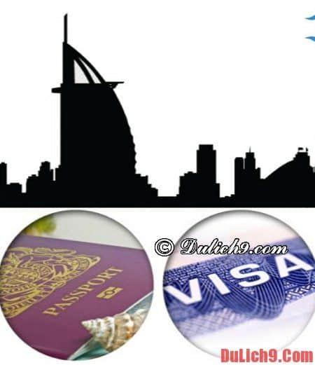 Thủ tục xin visa du lịch Dubai