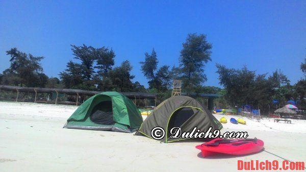 Kinh nghiệm cắm trại ở Cô Tô