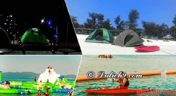 Cắm trại đảo Cô Tô