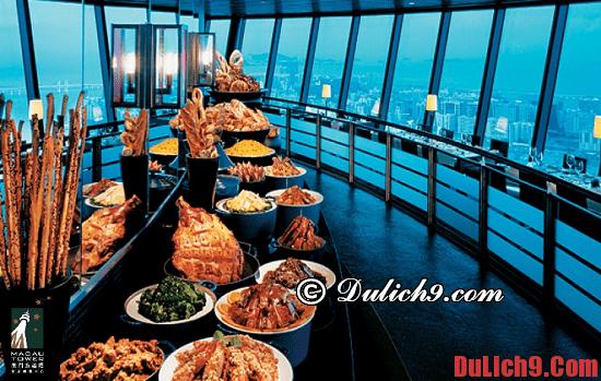 Ăn uống nổi tiếng ở Áo Môn - Macao