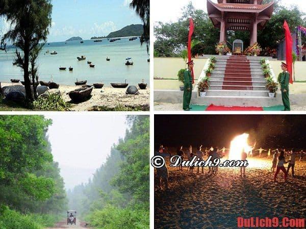 Hướng dẫn du lịch đảo Ngọc Vừng, điểm tham quan. Địa điểm du lịch, tham quan đẹp ở đảo Ngọc Vừng