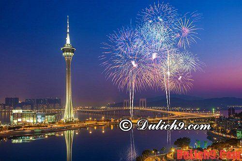 Mua sắm khi du lịch Macao. Kinh nghiệm mua sắm khi du lịch Macau