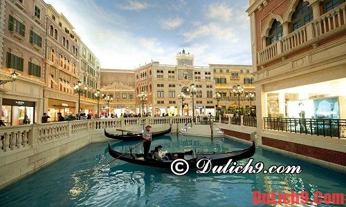 Nên mua sắm ở đâu khi du lịch Macao? Kinh nghiệm mua sắm khi du lịch Macau