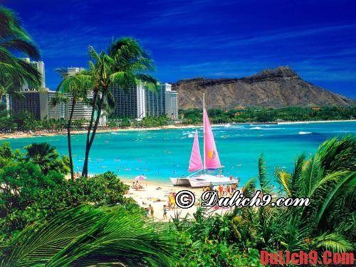 Địa điểm du lịch ở nước ngoài vào mùa hè