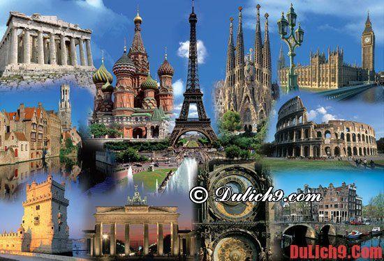Du lịch châu Âu tháng 7 giá rẻ nhất