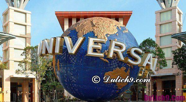 Hướng dẫn du lịch Universal Singapore