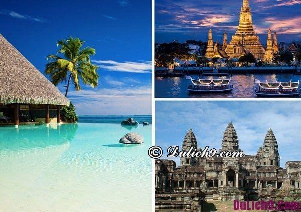 Địa điểm hấp dẫn ở nước ngoài trong tháng 1