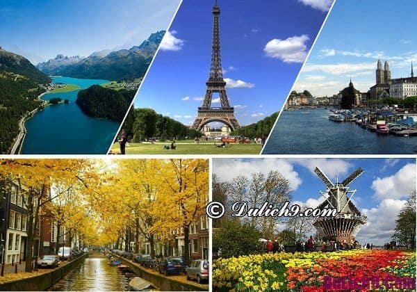 Điểm du lịch nước ngoài trong tháng 6