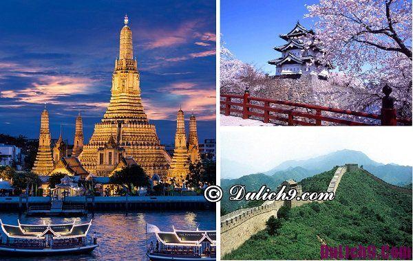 Du lịch châu Á tháng 6 địa điểm nổi tiếng, phong cảnh đẹp.