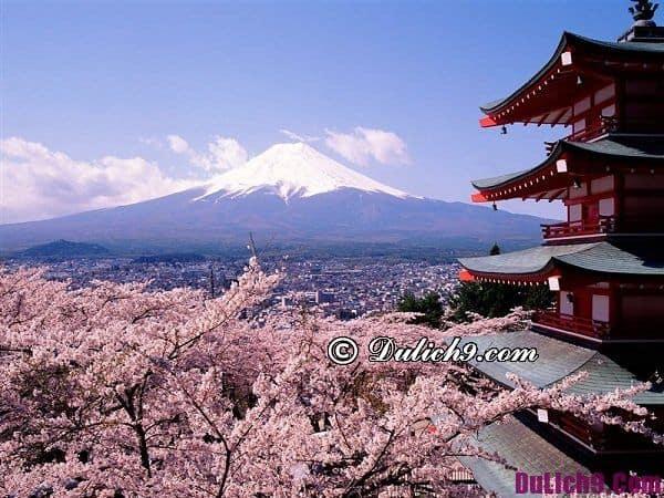 Tháng 4 nên đi du lịch nước nào?