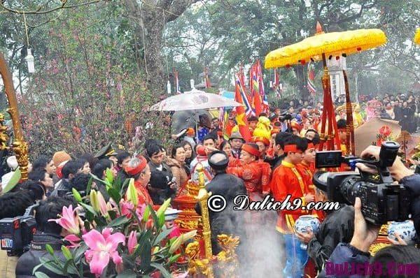 Lễ hội đầu năm mới ở miền Bắc