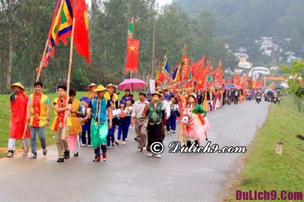 Lễ hội đầu năm ở miền Trung
