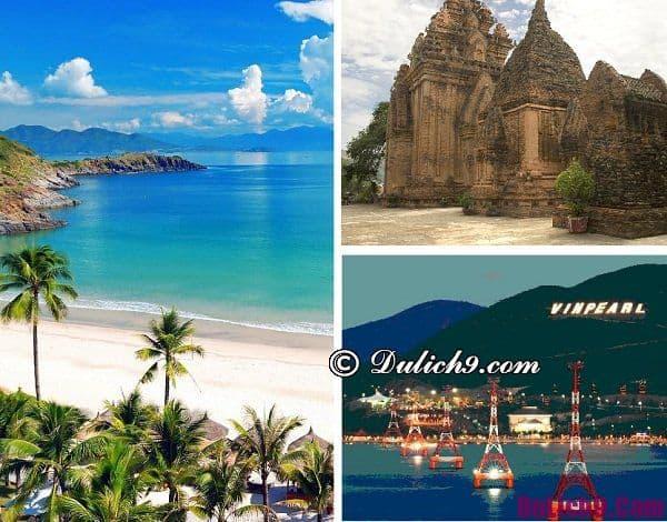 Đi du lịch ở đâu trong tháng 4?