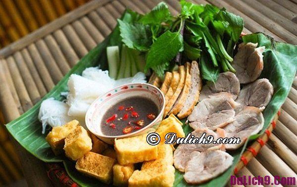 Ăn bún đậu ở đâu ngon nhất Hà Nội?