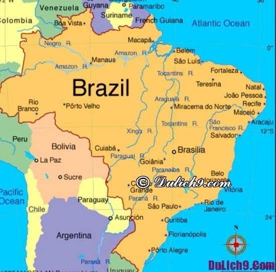 Chú ý quan trọng khi làm visa đi du lịch Brazil: Quy định về việc cấp visa đi Brazil du lịch