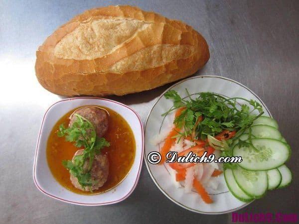 Những món ăn sáng ngon ở Đà Lạt