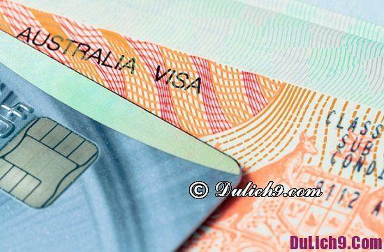 Hồ sơ cần thiết để xin visa đi Úc du lịch: Quy trình xin visa đi Úc