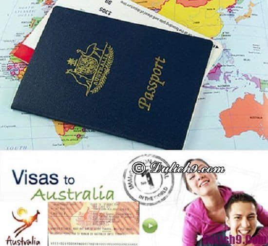 Hướng dẫn làm thủ tục xin visa đi du lịch Úc thuận lợi, nhanh nhất: Xin visa đi du lịch Úc có khó không?