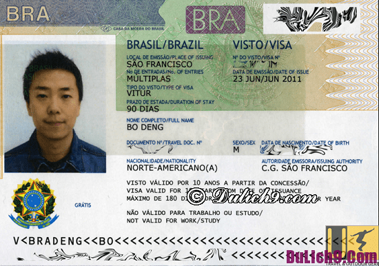 Hướng dẫn làm visa đi du lịch Brazil thuận lợi, nhanh nhất: Làm visa đi du lịch Brazil như thế nào?