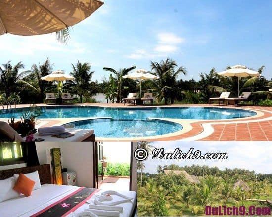 Khách sạn ở Bến Tre giá tốt, sạch đẹp: Khách sạn bình dân ở Bến Tre có bể bơi, view đẹp
