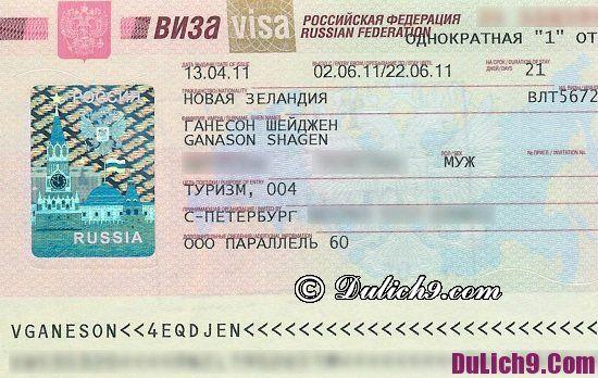 Kinh nghiệm và các thủ tục xin visa đi Nga du lịch: Lưu ý quan trọng khi làm visa du lịch Nga