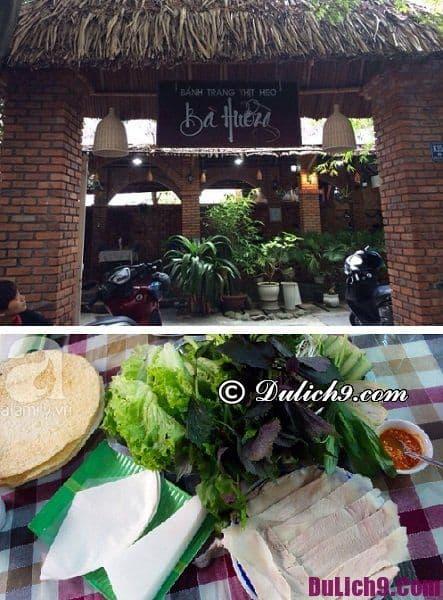 Quán bánh tráng cuốn thịt heo ngon nổi tiếng ở Đà Nẵng