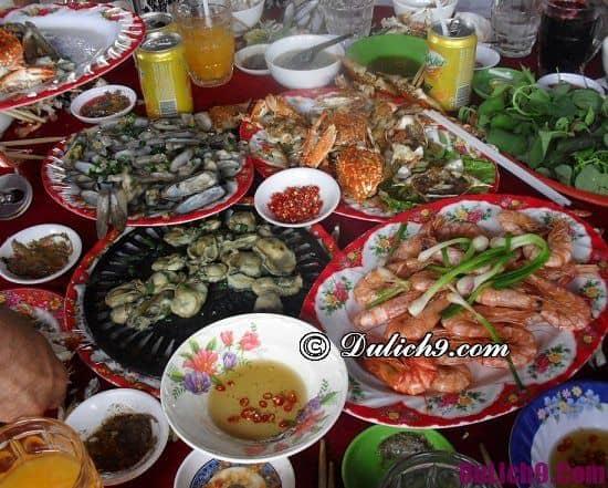 Nhà hàng ăn hải sản ngon nổi tiếng giá rẻ ở Tuy Hòa: Quán ăn ngon ở Tuy Hòa