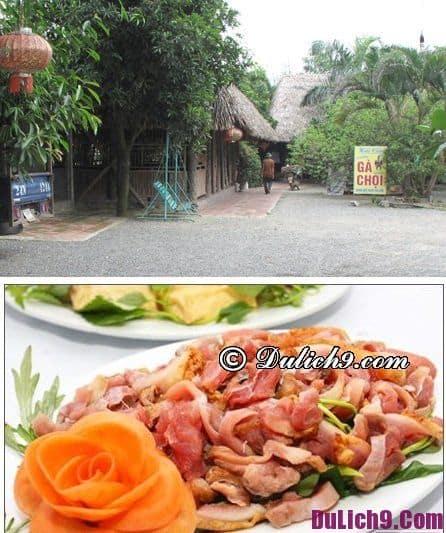 Nhà hàng ở Tam Đảo