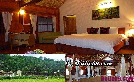 Nhà nghỉ, khách sạn giá rẻ ở Mai Châu vị trí đẹp, tiện nghi
