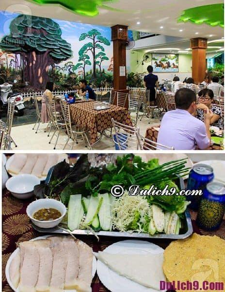 Địa chỉ bánh tráng cuốn thịt heo ngon ở Đà Nẵng