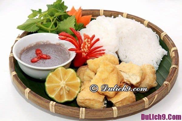 Quán bún đậu mắm tôm ngon ở Hà Nội