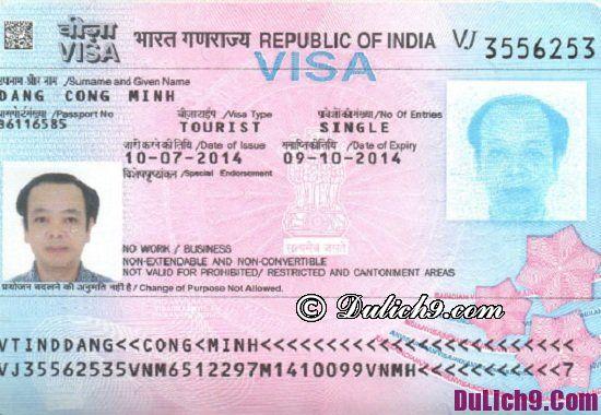Quy trình làm visa đi du lịch Ấn Độ nhanh nhất: Xin visa đi du lịch Ấn Độ có khó không?