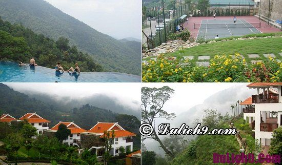 Resort cao cấp để nghỉ dưỡng gần Hà Nội dịp 2-9 chất lượng tốt: Đi nghỉ dưỡng ở đâu dịp 2/9 quanh Hà Nội