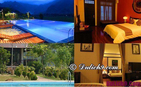 Tư vấn resort, khách sạn nghỉ dưỡng ở Mai Châu sạch sẽ, tiện nghi: Mai Châu có khách sạn nào tốt, hiện đại, có bể bơi?