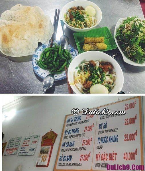 Quán ăn đêm Đà Nẵng ngon