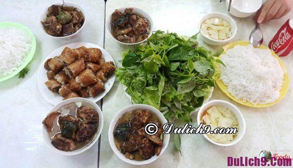 Ăn gì ở phố cổ Hà Nội?