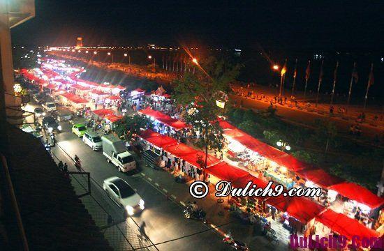 Chợ mua sắm giá rẻ và trung tâm mua sắm ở Vientiane Lào: Nơi mua đồ khi tới Viêng Chăn du lịch