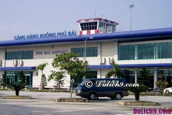 Cách di chuyển từ sân bay Phú Bài về trung tâm thành phố Huế