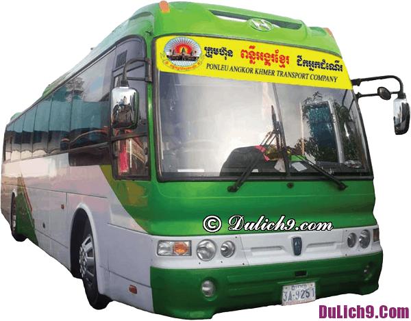 Hãng xe bus nào đi Campuchia từ Sài Gòn?