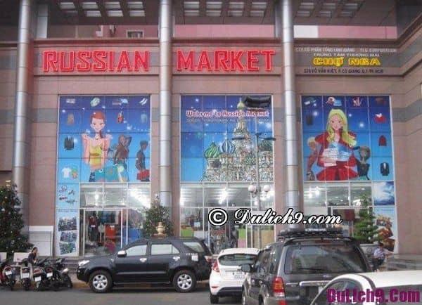 Địa chỉ mua sắm nổi tiếng ở Campuchia