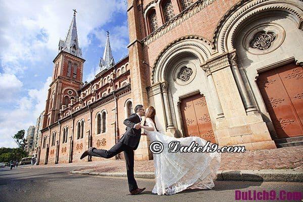 Địa điểm chụp hình cưới đẹp ở Sài Gòn