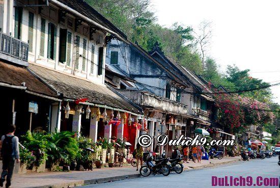 Địa điểm du lịch nổi tiếng ở Luang Prabang: Du lịch Luang Prabang nên đi chơi ở đâu?