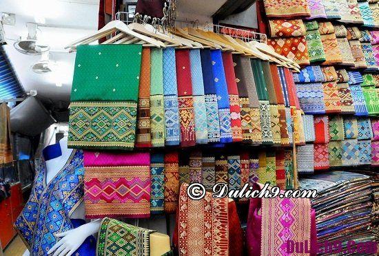 Địa điểm mua sắm giá rẻ ở Viêng Chăn (Vientiane) Lào: Các khu chợ ở Viêng Chăn nổi tiếng