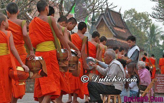 Địa điểm tham quan du lịch hấp dẫn ở Luang Prabang: Hoạt động du lịch nổi tiếng ở Luang Prabang